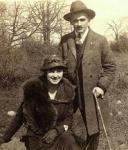 Louise Vallières et Max Comtois, 1921